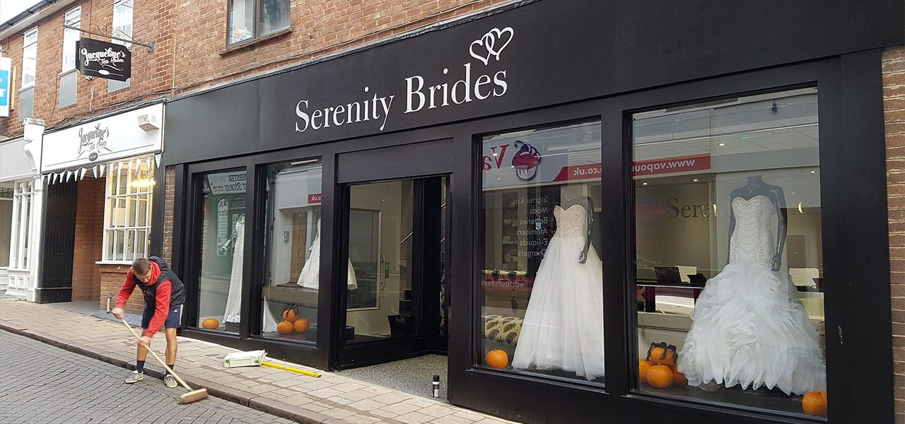 Serenity Bridges commercial shop fitting by Betts and Cranfield Colchester Essex